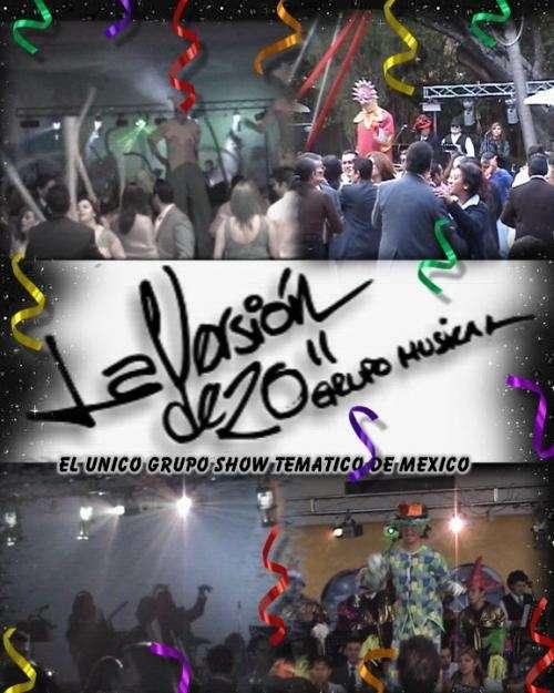 El unico grupo show musical de mexico
