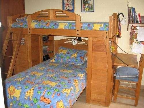 Litera para ni os en madera en jalisco muebles 56496 - Precios de literas para ninos ...