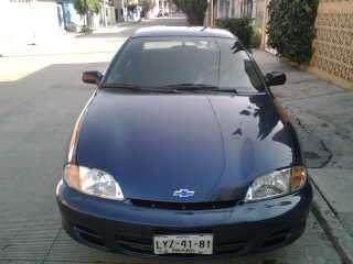 Cavalier 2002 4p impecable azul electrico
