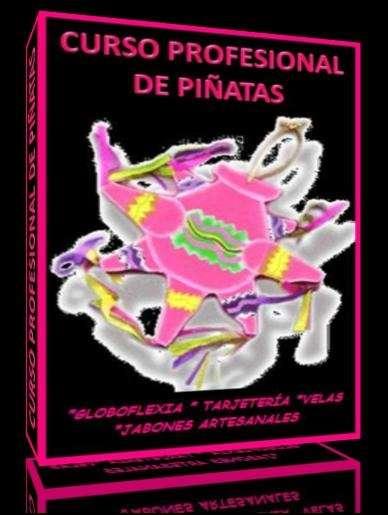 Curso profesional de piñatas globoflexia tarjeteria