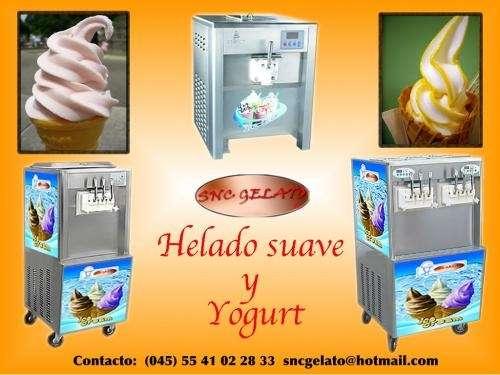 Maquinas de helado de yogurt , suave y gelato