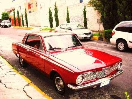 Valiant clasico placas de auto antiguo