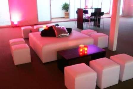 Renta de salas lounge y muebles para eventos