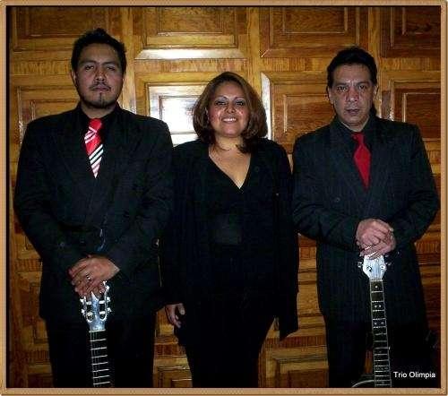 Grupo musical trio olimpia