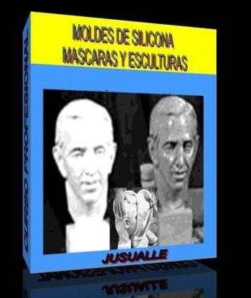 Curso - moldes de silicona mascaras y esculturas