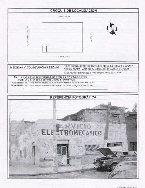 Se vende propiedad a una cuadra de rio consulado (urge)
