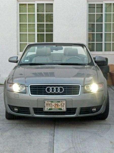 Audi a4 cabriolet multitronic 1.8t