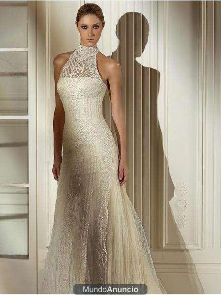 vendo vestido de novia nesga colección pronovias. como nuevo! en