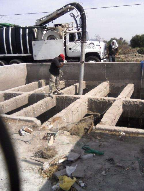 Alta tecnologia en edificacion y saneamiento