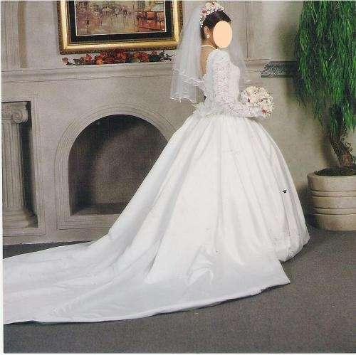 vendo vestido de novia usado en monterrey - ropa y calzado | 154630