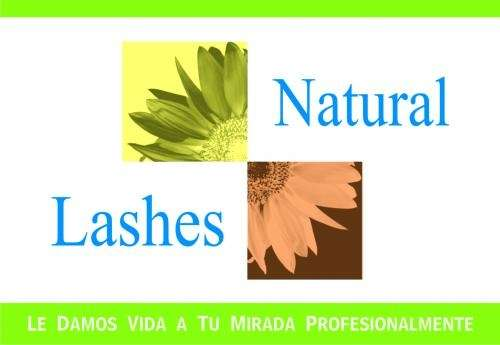 Extensiones de pestañas de cabello natural y mink