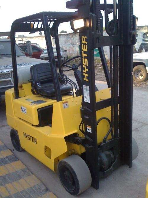 Montacargas hyster 5,000 lbs, gas lp