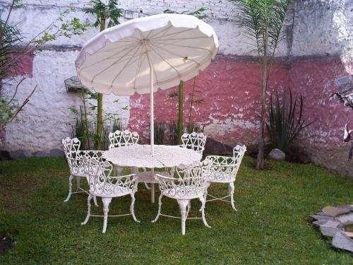 Vendo juego de mesa y sillas para jardin en Guadalajara - Decoración ...