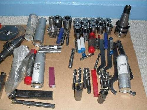 Lote de herramientas para fresadora universal y torno