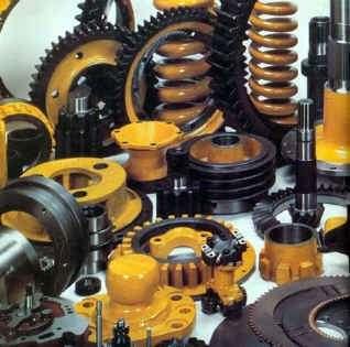 Lote de repuestos para maquinaria pesada