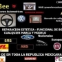 Reparacion Estetica/Funcional Airbag Testigo luminoso borrado de