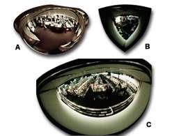 Espejo esferico de 360 grados de 18