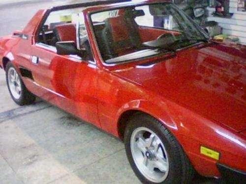 Fiat bertone 1980 110.000