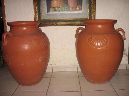 Fotos de Hermosos jarrones gigantes de barro decorativos en Jalisco ...
