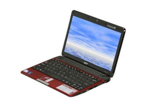 Acer aspire one 533-13525 10.1 n455 1g 250g w7str bg crdr cam roja