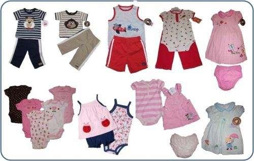 c6b73d4cb Lote de 20 piezas ropa nino y nina carter's 100% original en ...