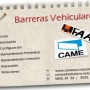 CONTROL DE ACCESO: BARRERAS FAAC Y CAME
