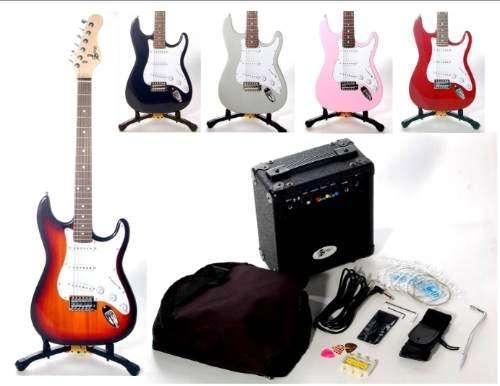 Paquete de guitarra eléctrica marca maze nuevo completo