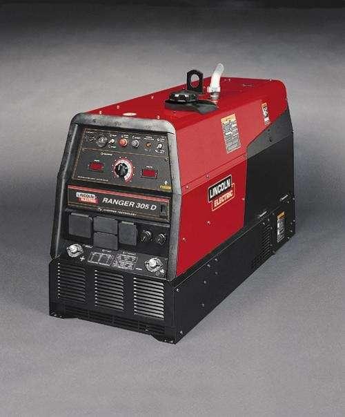 Renta - soldadora electrica con motor a gasolina - 300 y 190 amps