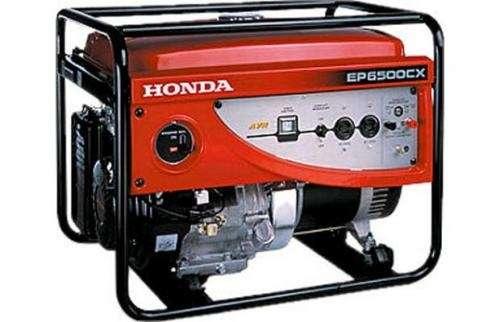 Generador honda de 6.5 kw - modelo ep6500cxs - motor gx 390