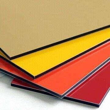 Panel de aluminio compuesto para revestimiento fachada (alucobond)