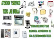 REPARACIÓN DE LAVADORAS, REFRIGERADORES Y ELECTRODOMÉSTICOS EN GENERAL