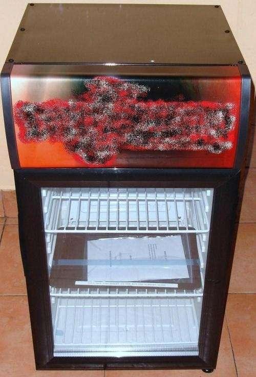 """Mini refrigerador con display """"nuevo"""""""