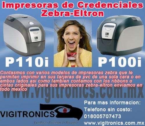 *impresora zebra*impresora de tarjetas de pvc*zebra mexico*