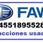FAW   Vendo refacciones faw  sedan 2008