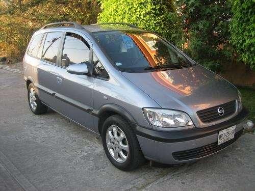 + chevrolet zafira 2003 aut. 4 cil. ideal para familia +
