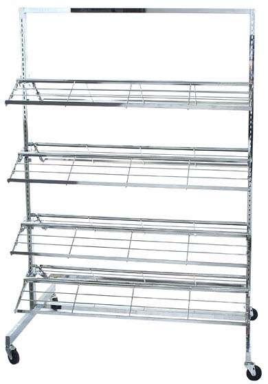 Fabricamos exhibidores metalicos como: exhibidores de ropa, revisteros y demas.