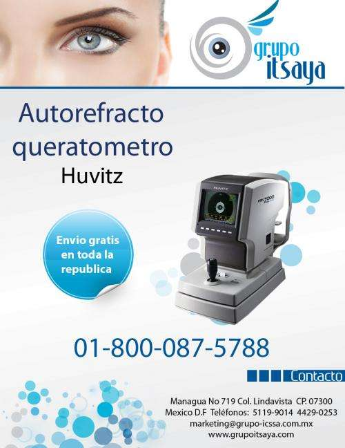 Venta de equipo oftalmologico y de optometria
