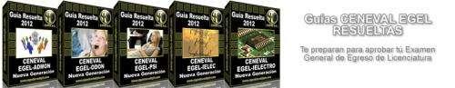 Todas las mejores guias ceneval 2012 resueltas