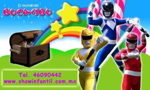 Show infantil de los power rangers fiesta infantil