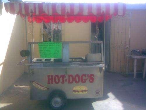 Vendo o rento carrito para hot dogs y hamburguesas
