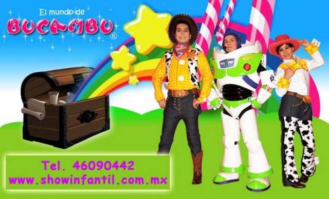 El show infantil de toy story en mexico