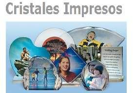 Cristales personalizados impresos con tu foto ó logo de tu empresa.