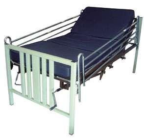 Cama para hospital con conclon seccionado (manual, 5 posiciones)