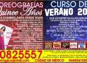 COREOGRAFÍAS XV AÑOS / CURSO DE VERANO 2012 ($3,000)