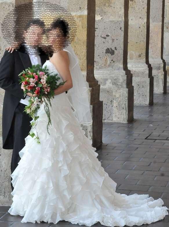Hermoso vestido de novia briden formal 2012