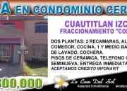 Cuautitlan Izcalli, Cofradia, vendo casa en condominio horizontal
