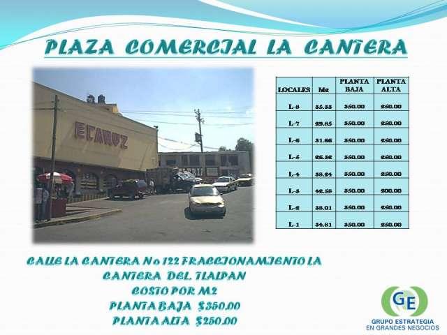 Plaza cantera cuenta con espacios comerciales