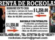 Renta/Venta de Rockolas con Karaoke y Futbolito