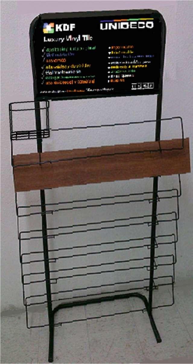 Exhibidores metalicos para revistas, libros