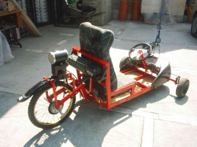 Go-kart electrico 36v 1000w con caja reductora 5-1